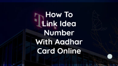 How To Link Idea Number With Aadhar Card Online