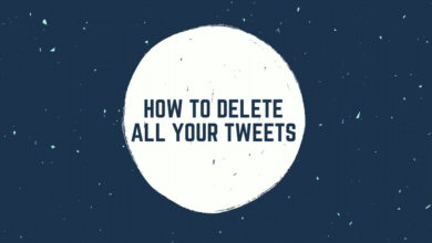 How to Delete All Your Tweets