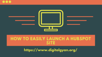 Launch a hubspot site