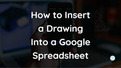 How to Insert a Drawing Into a Google Spreadsheet