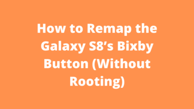 How to Remap the Galaxy S8's Bixby Button (Without Rooting)
