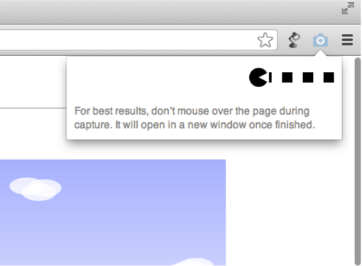 full page screen capture extension