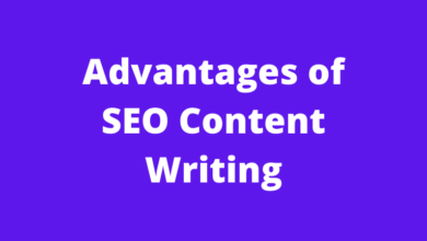 Advantages of SEO Content Writing