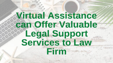 vrtual assistance can offer valuable legal support
