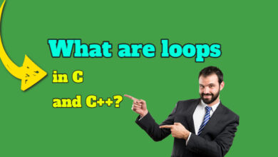 loops in c and c++