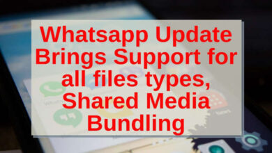 whatsapp updates brings support for all files types, shared media bundling
