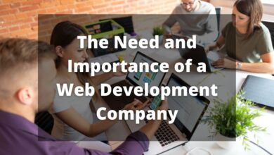 The Need and Importance of a Web Development Company