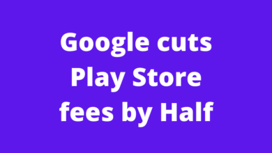 Google cuts Play Store fees by Half