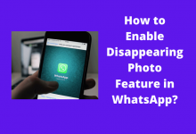 How to Enable Disappearing Photo Feature in WhatsApp